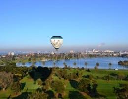 Balloon Flight over Melbourne