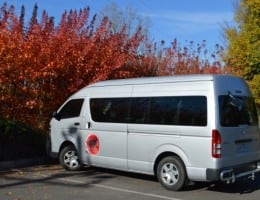 Our small group touring bus