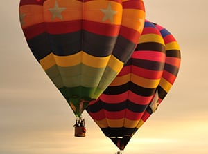 Yarra Valley hot air balloon tour packages