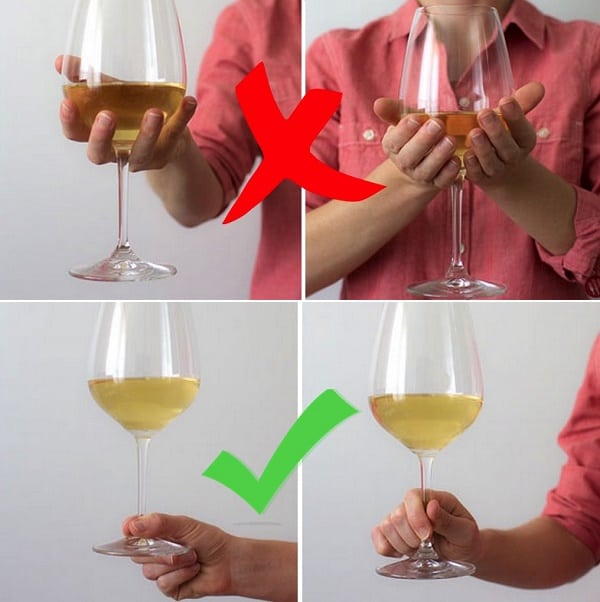Etiquette Wine Glasses